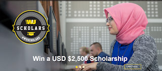 WU Scholars Global Scholarship for Post-Secondary Education - 2018 | Win $2,500