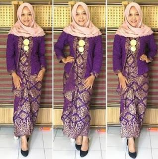 Model Baju Kebaya Modern Berjilbab 2017