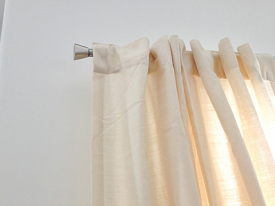 Diy Extra Long Curtain Rod Bits Of Everything