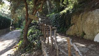Cami de Cavalls út Cala Mitjana-ba