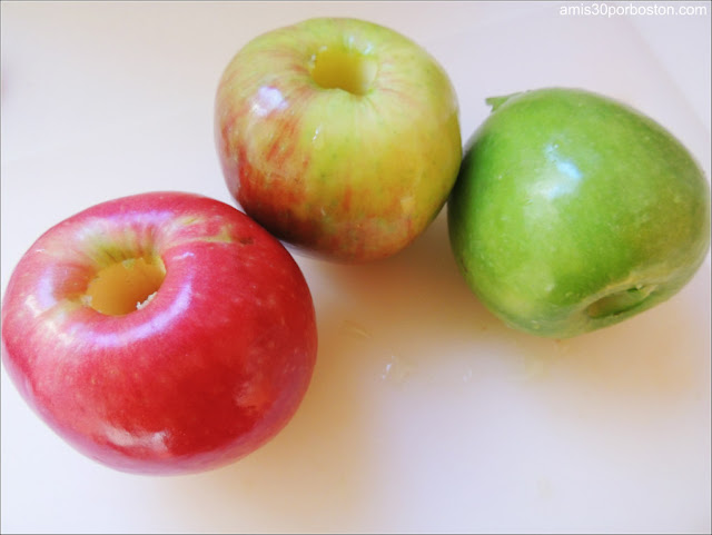 Manzanas de Diferentes Variedades