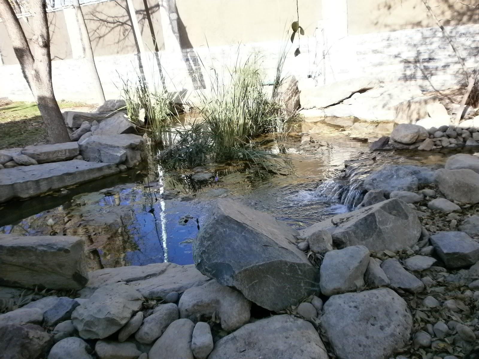 Rio y lago artificiales for Construccion de lagos artificiales
