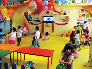 حضانة منزلية للاطفال