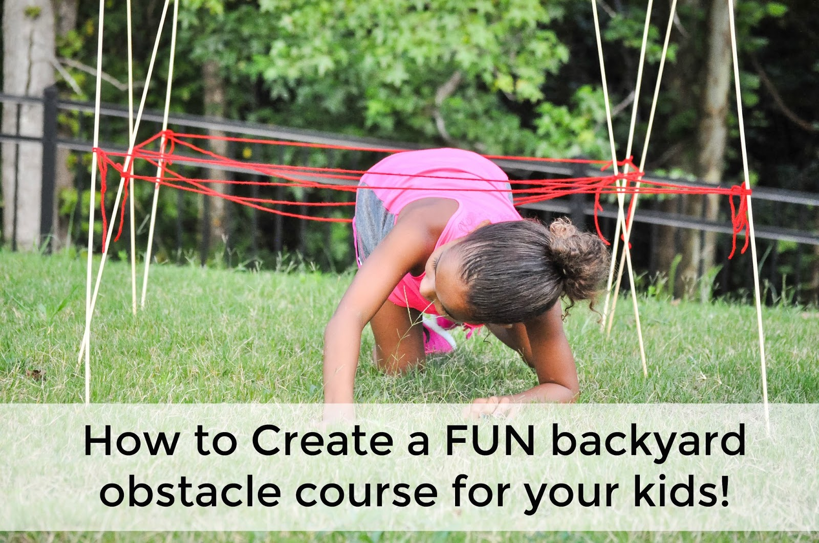 how to create a backyard obstacle course for your kids pretty real