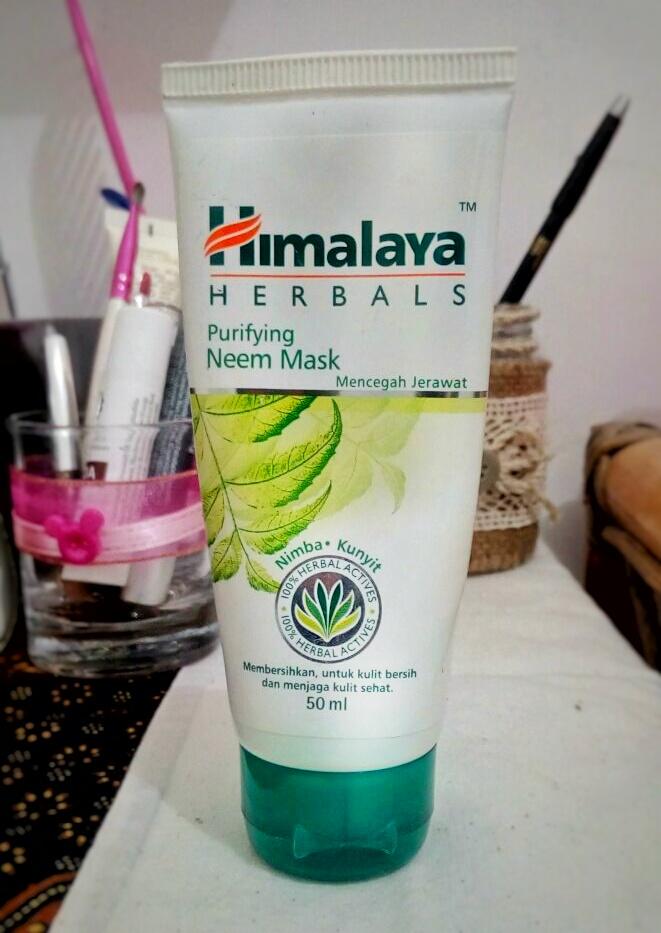 Review Himalaya Purifying Neem Mask