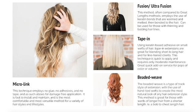 Beaded Weave Hair Extensions info featured by top Denver fashion blog, Delayna Denaye
