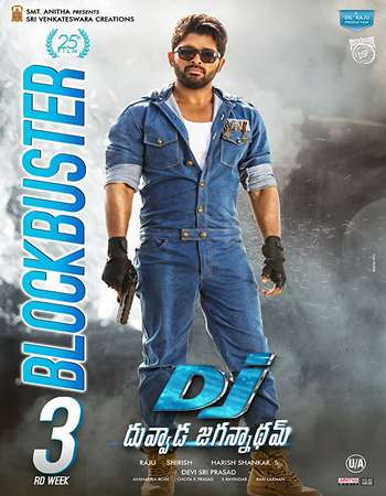 DJ Duvvada Jagannadham 2017 UNCUT Hindi Dual Audio HDRip Full Movie Download