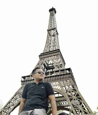 Small World Purwokerto : Foto Menara Eiffel