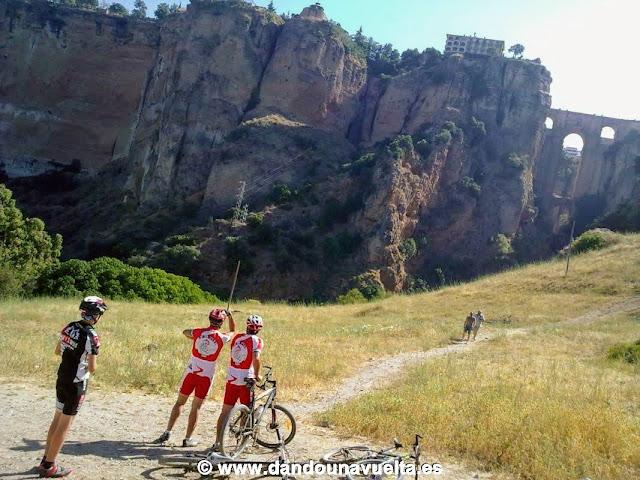 Cuesta del cachondeo, Tajo de Ronda. 101 km La Legión
