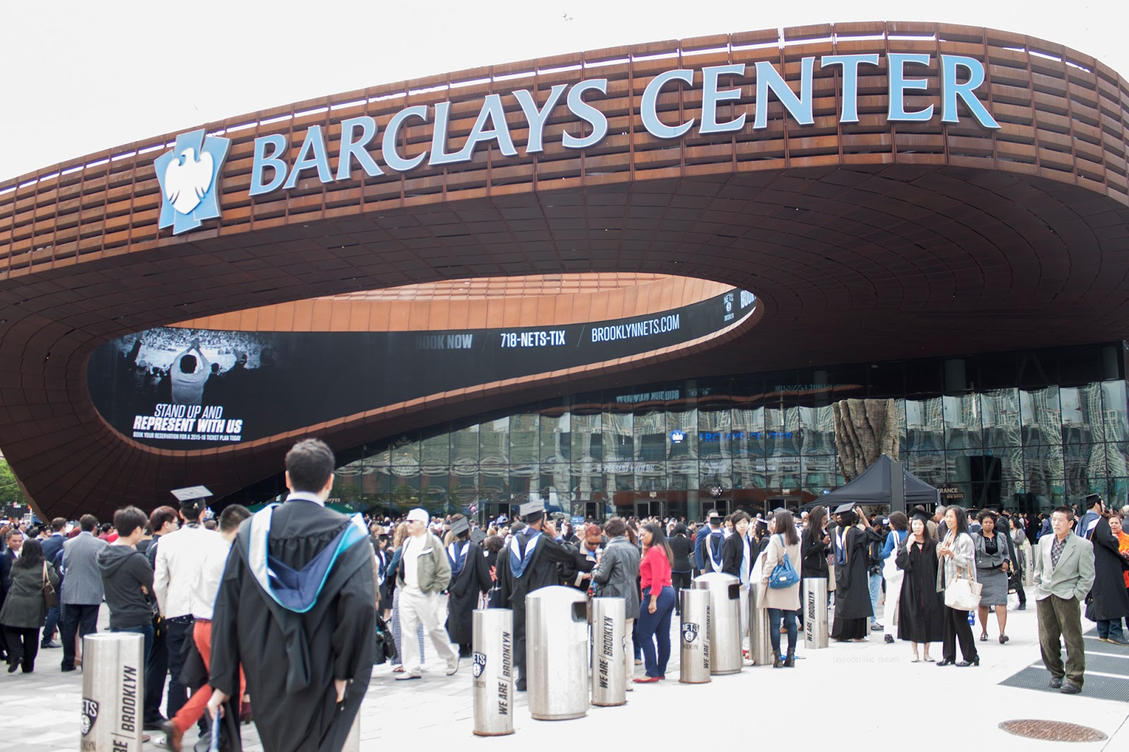 Baruch College, Barclays Center, Barclays Center outside, 2015 Commencement, undergraduate, graduation, New York