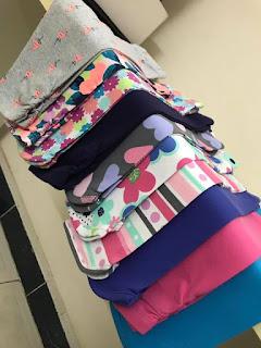 Quần legging lửng Gymboree cho bé gái, VN xuất xịn, size 6M đến 8T.