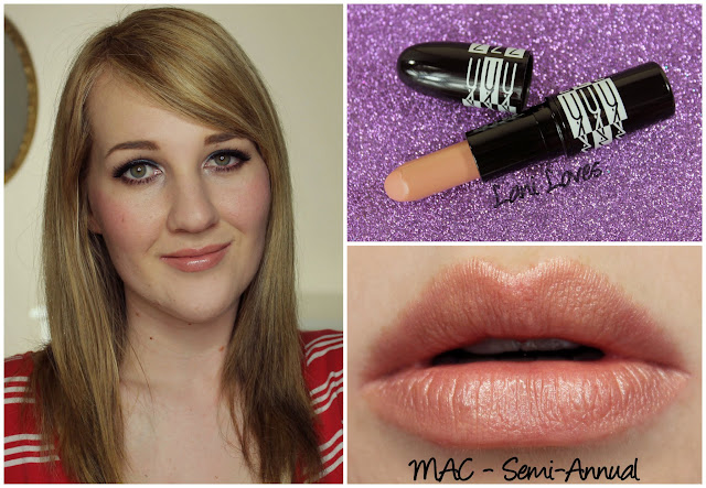 MAC Semi-Annual lipstick swatch