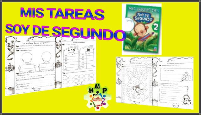 MIS TAREAS DE: SOY DE SEGUNDO - 2°