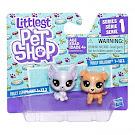Littlest Pet Shop Series 1 Mini Pack Frilly Lepapillon (#1-123) Pet