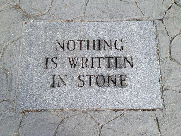 35 Hilarious Pictures Capturing Ironic Moments - Nothing Is Written In Stone