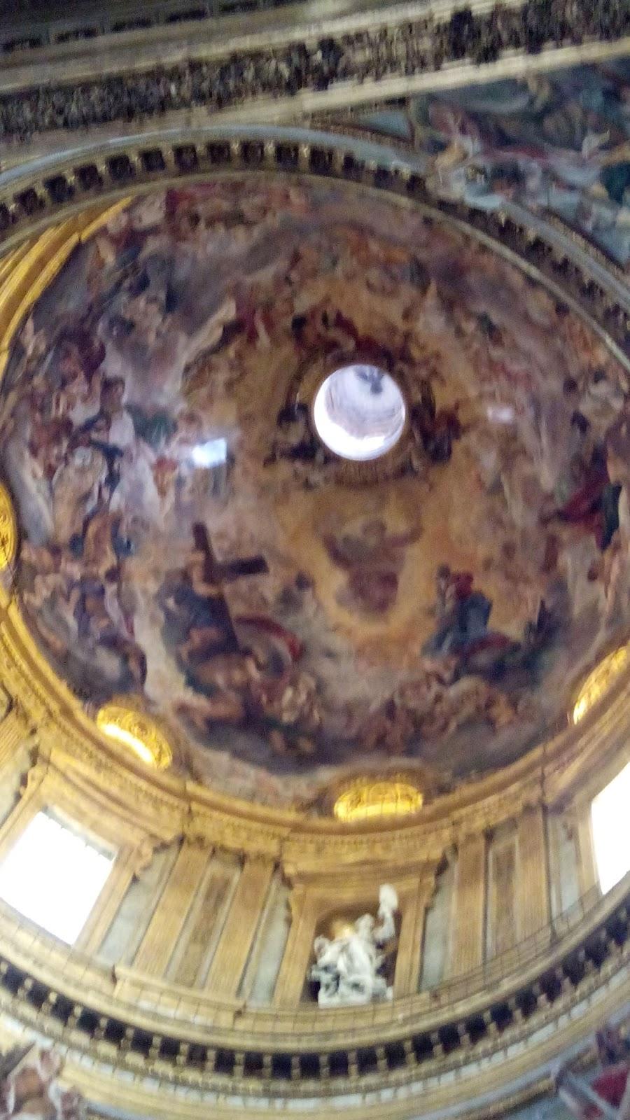 cupola chiesa gesu guiaderoma - Igreja de Jesus