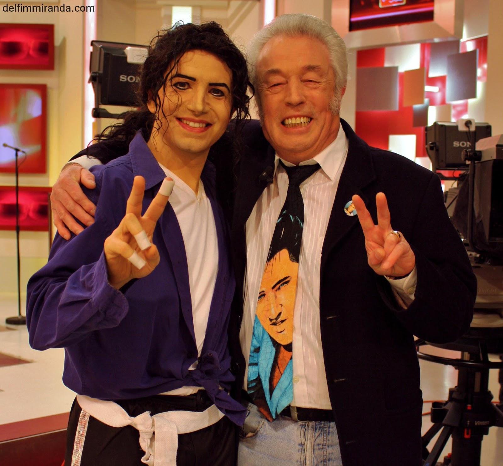 Delfim Miranda - Michael Jackson Tribute - With Elvis Fan