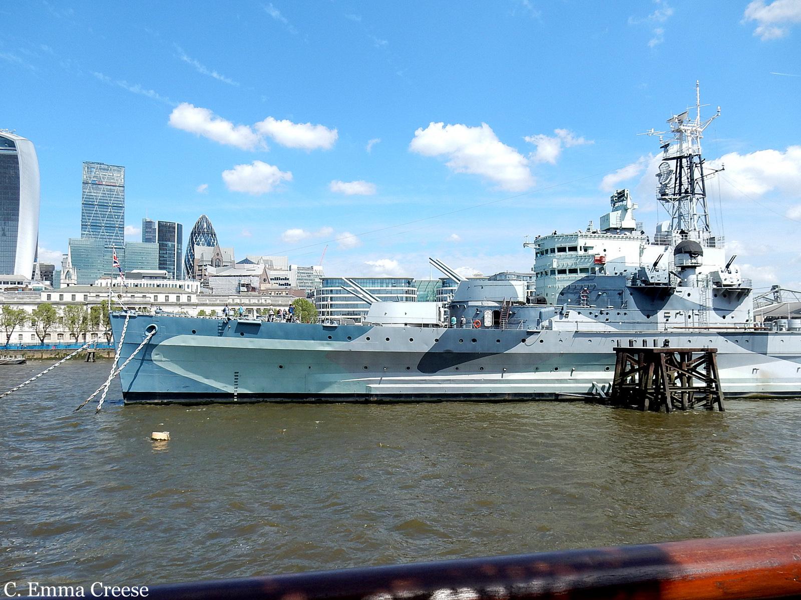 HMS Belfast Floating Museum Naval History Adventures of a London Kiw