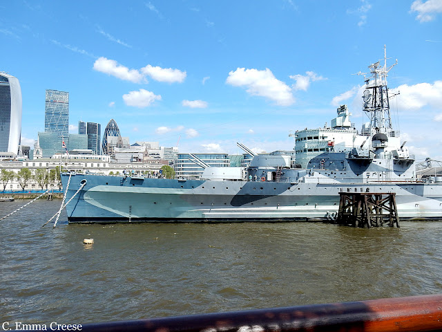 HMS Belfast Floating Museum Naval History Adventures of a London Kiw