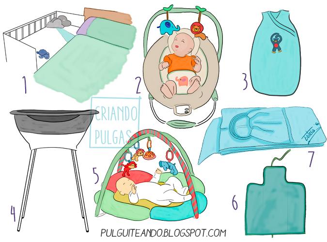 Cosas útiles para recién nacidos