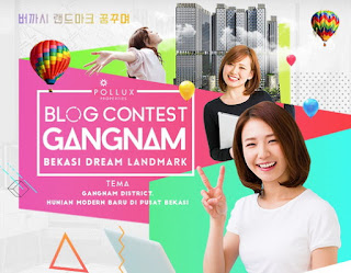 Lomba Blog Gangnam District Bekasi Deadline 25 Februari 2017