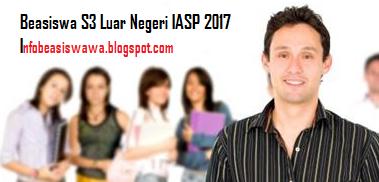 Beasiswa S3 Luar Negeri IASP 2017