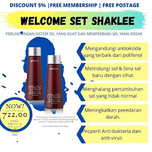 WELCOME SET SHAKLEE