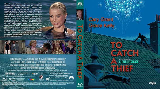 To Catch A Thief Bluray Cover