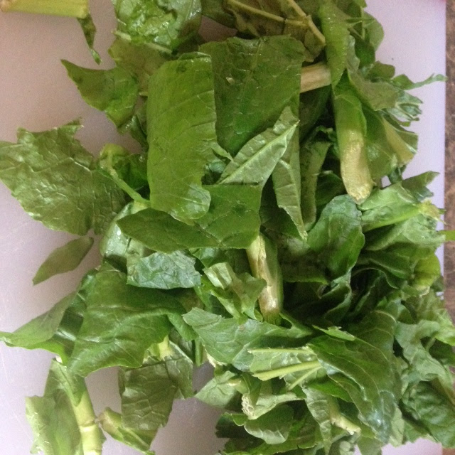 Beauty Begins with Biscotti: Nature's Greens Turnip Greens