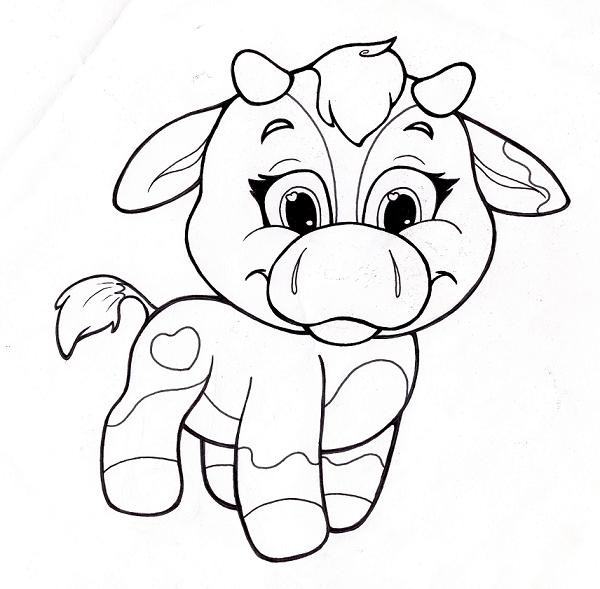 Super cute baby animals coloring pages - photo#26