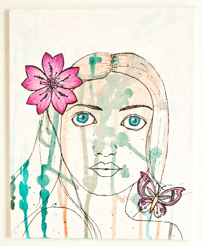 Flora By Kim Dellow For PaperArtsy