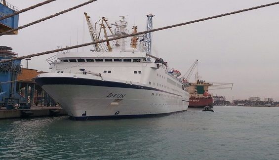 Berlin cruise at port of Durres