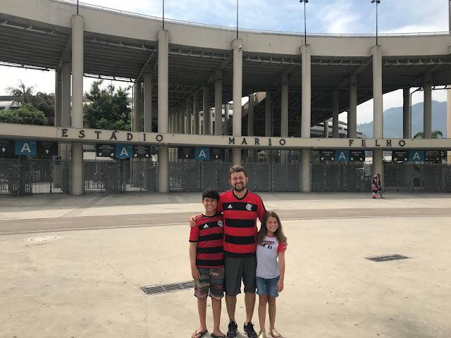 Maracanã Tour - Entrada do Estádio Mario Filho