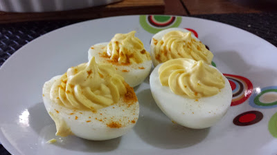 ovos picantes low carb