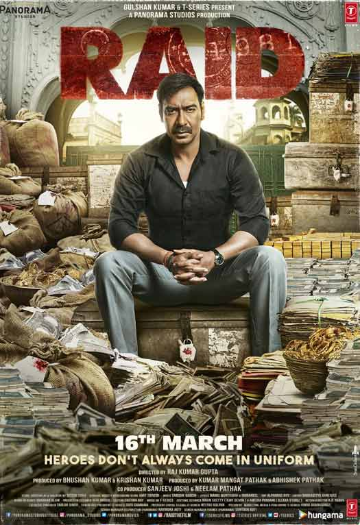 Ajay Devgn Hindi movie Raid 2018 wiki, full star-cast, Release date, Actor, actress, Song name, photo, poster, trailer, wallpaper