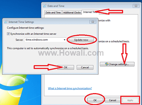 How to correct wrong time issue in Windows 10 8 7
