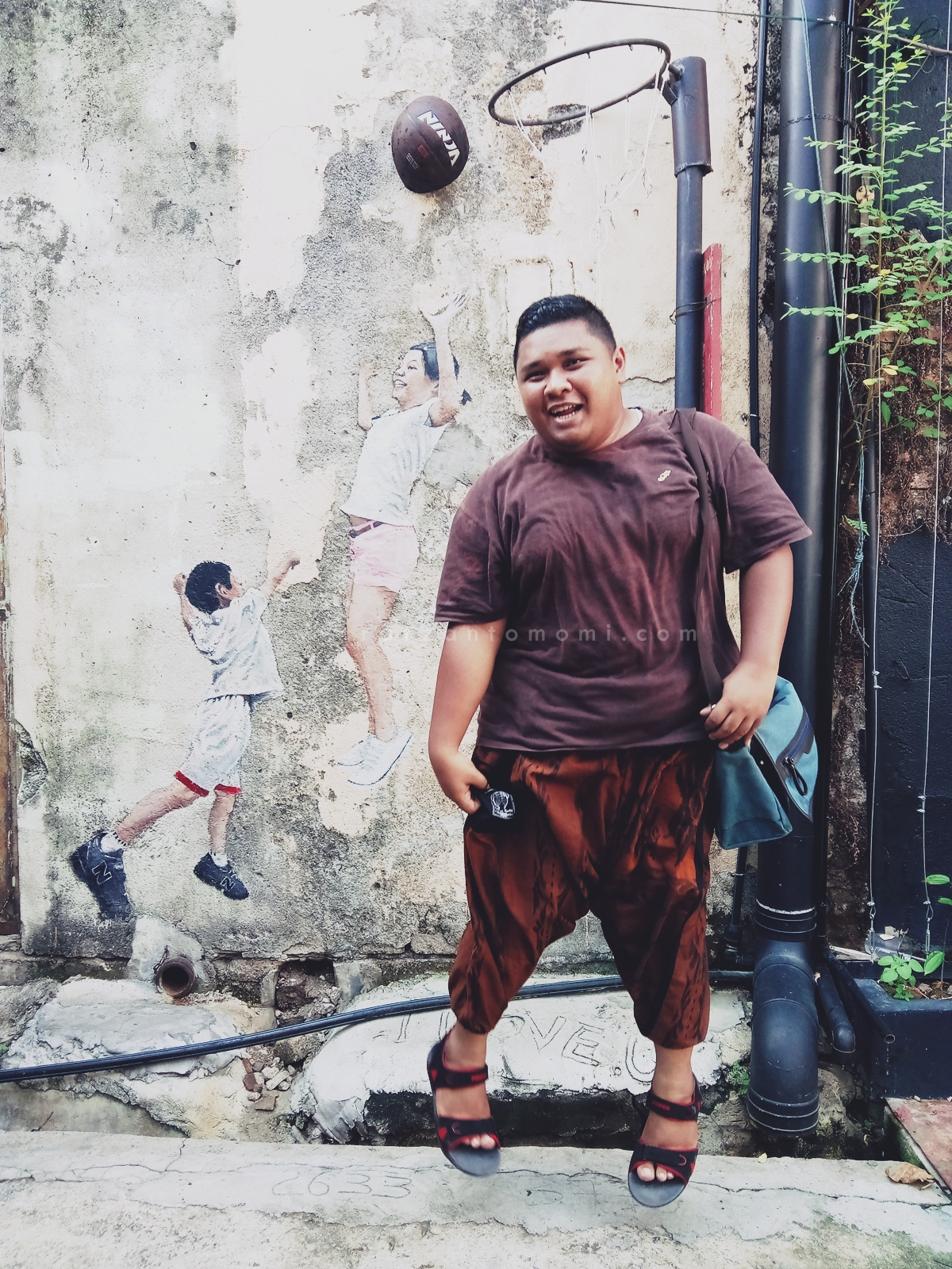Gambar Menarik Di Street Art Pulau Pinang
