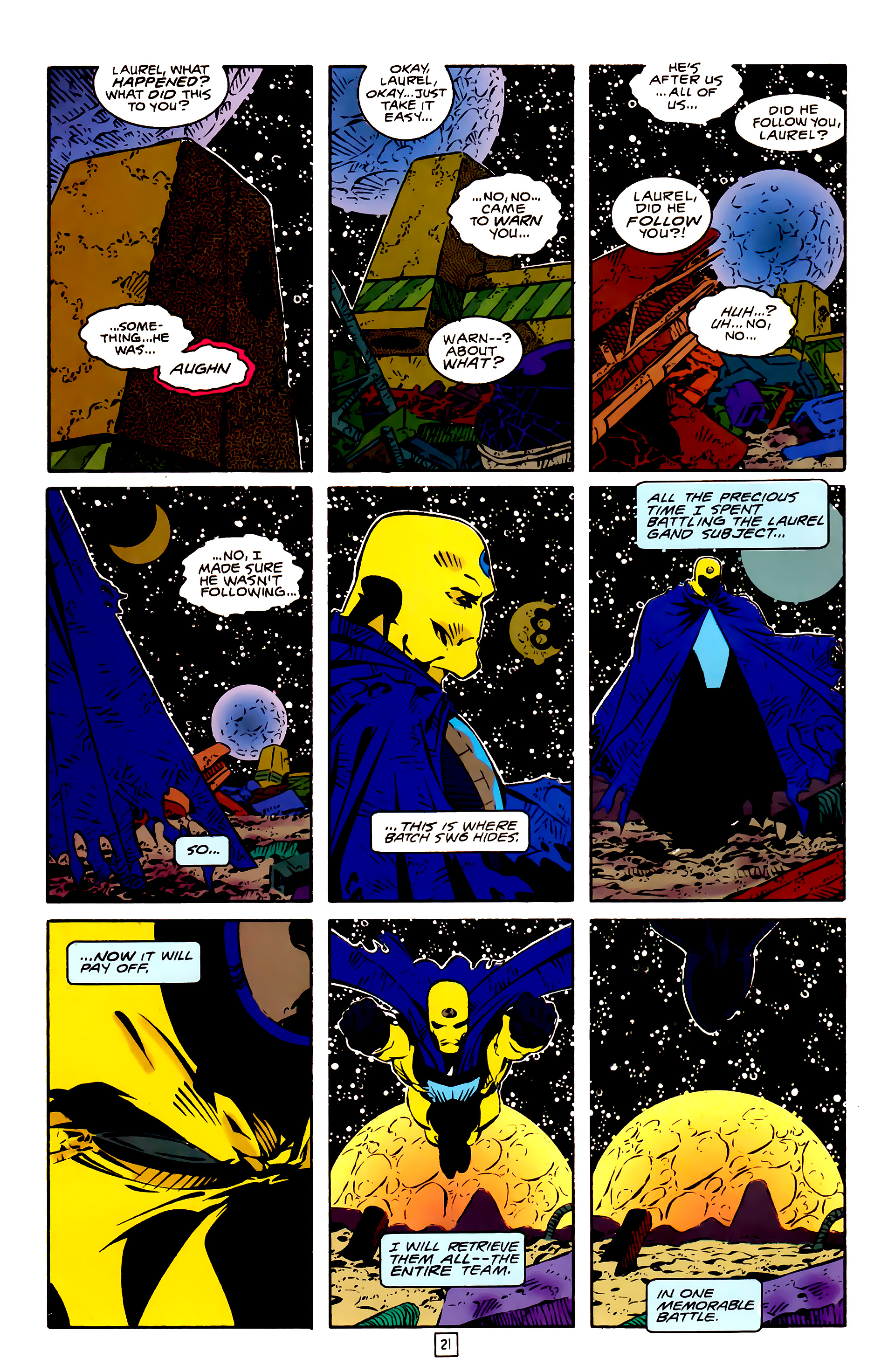 Legion of Super-Heroes (1989) 26 Page 21