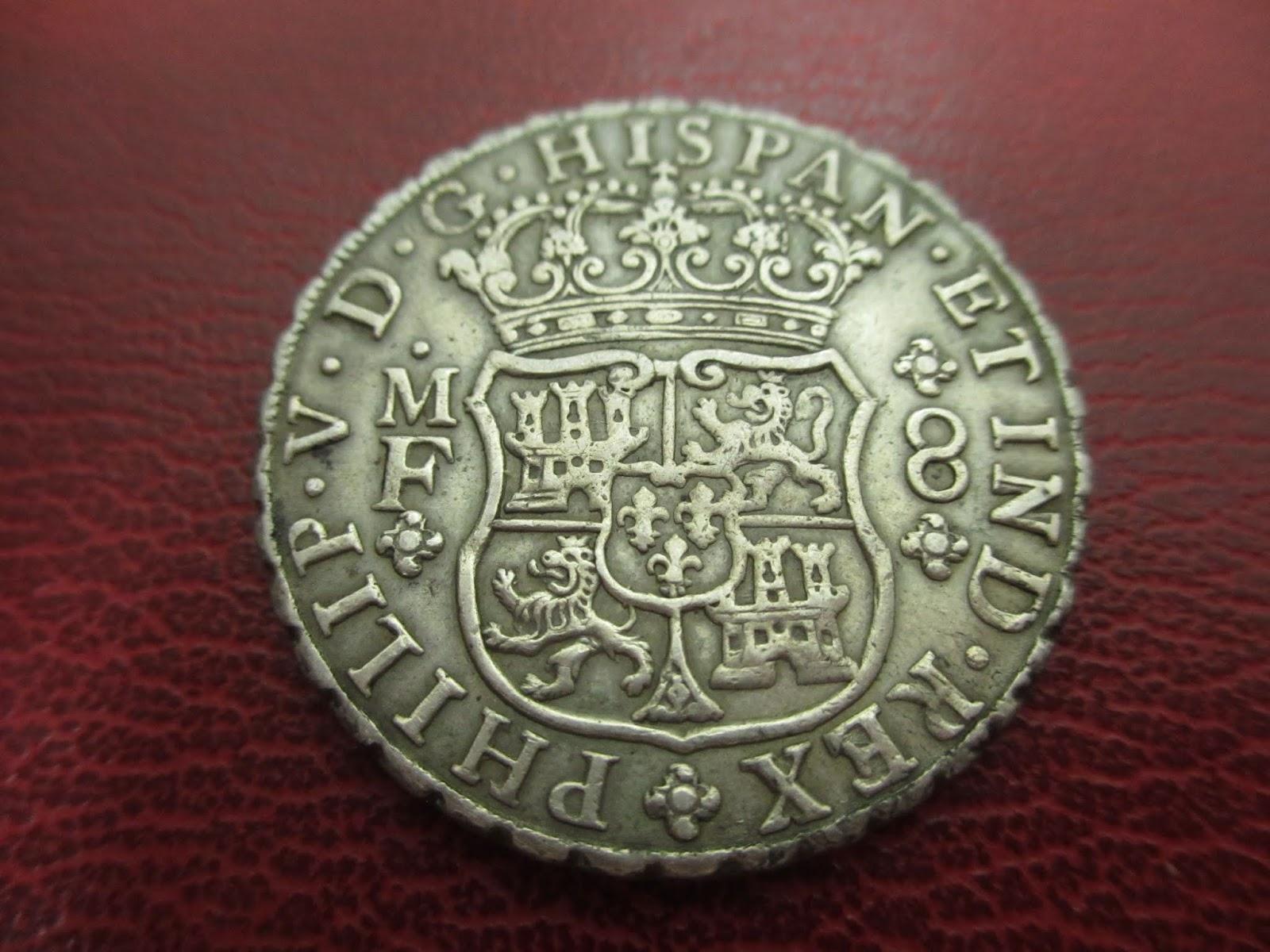 Felipe V - Mexico - 8 Reales - 1746 IMG_4198