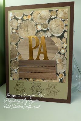 Wood Textures Paper with Wood Crates Die cut