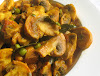 Spicy Mushroom Green Pea Curry