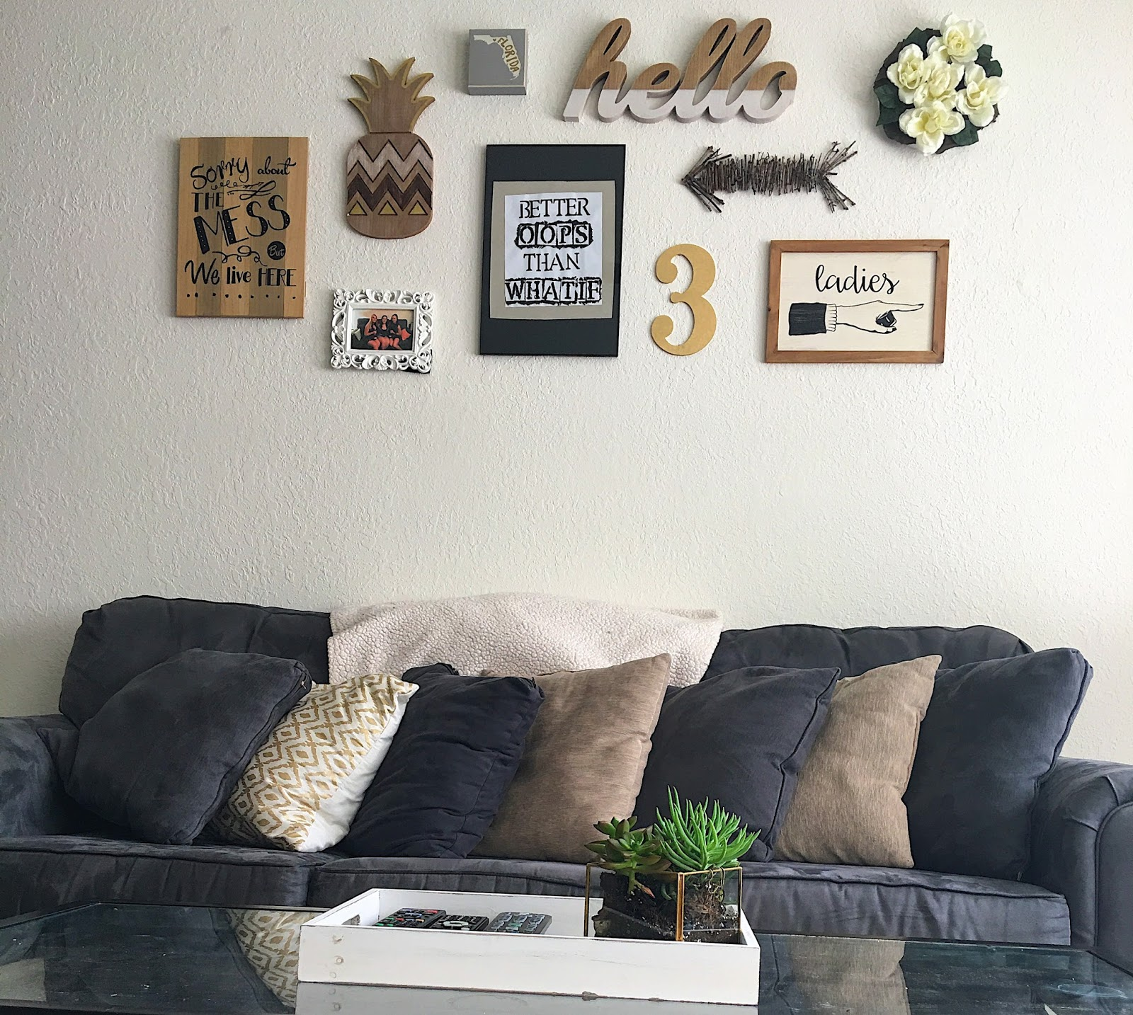 Living Room Tour | courtney l bell