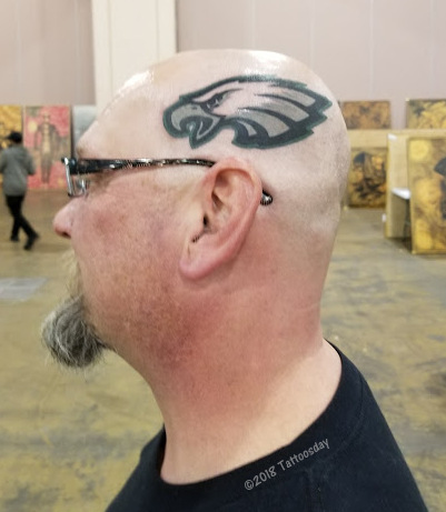 phillyeagles Philly to the Bone (Desymbol at the Philadelphia Tattoo Arts Convention) tattoo