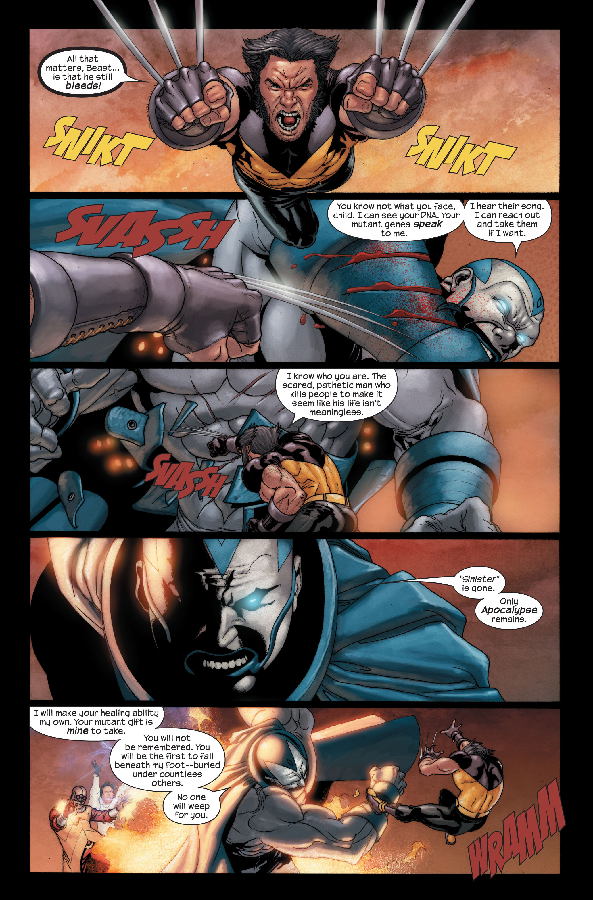 Read online Ultimate X-Men comic -  Issue #91 - 8