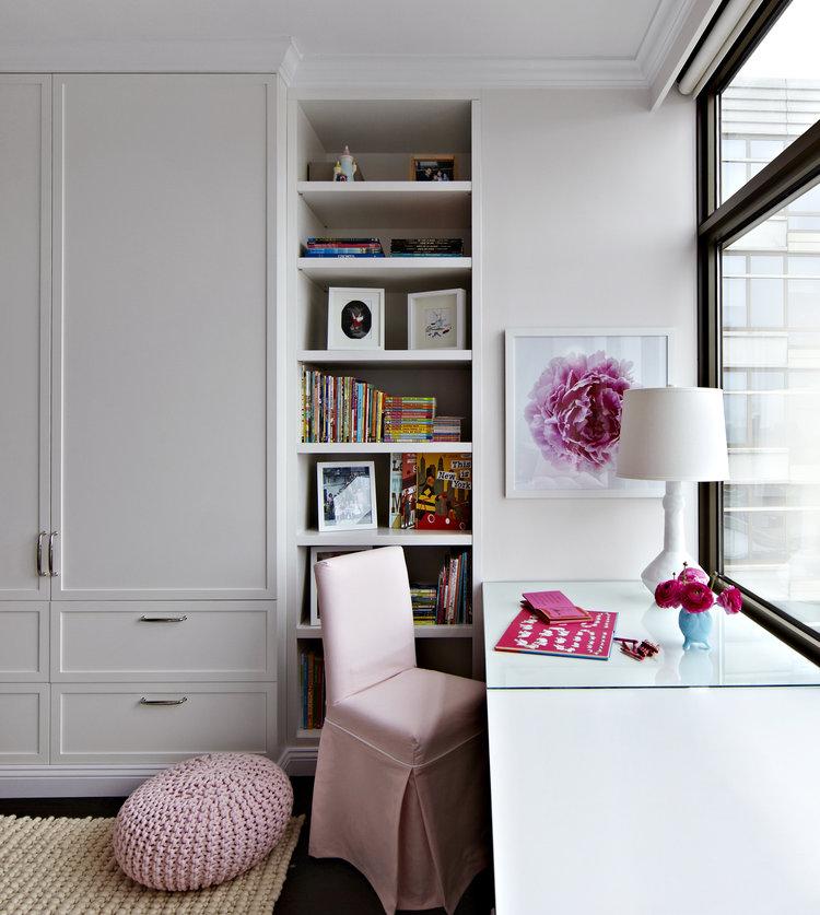 habitación de niña diseño interiores