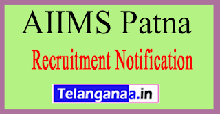 AIIMS Patna All India Institute of Medical Sciences Recruitment Notification 2017 Last Date 27-06-2017