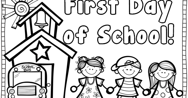kindergarten coloring pages school - photo#30