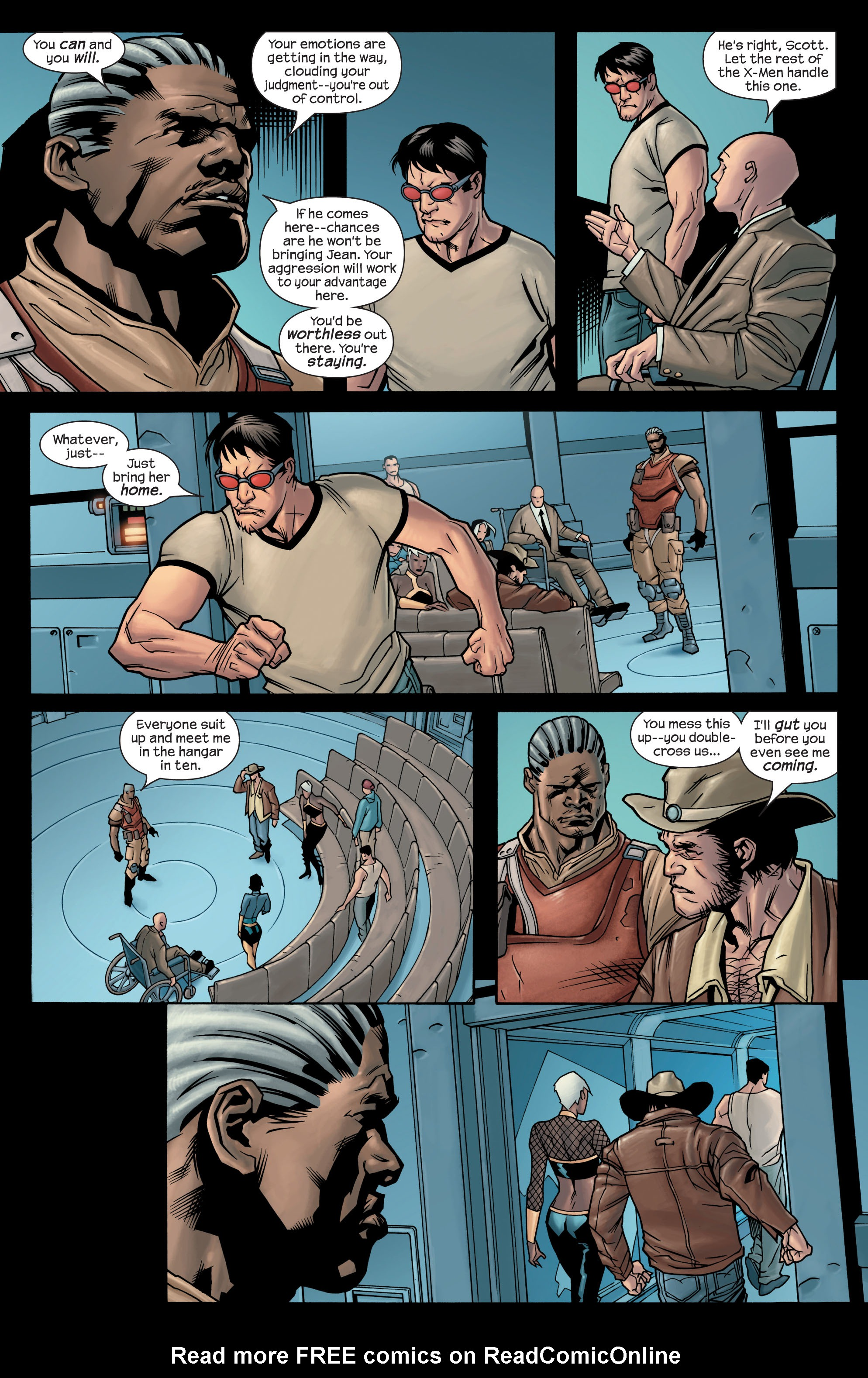 Read online Ultimate X-Men comic -  Issue #77 - 9