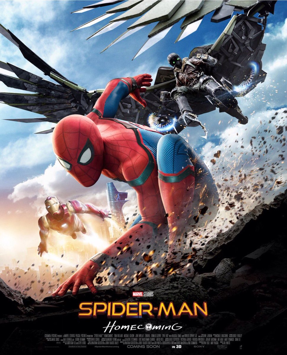 Spider-Man Homecoming Movie Posters