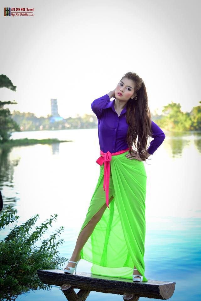Myanmar Pretty Academy Actress: Melody's Fashion